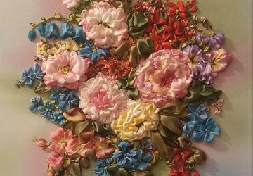 """A picture """"A huge bouquet"""""""