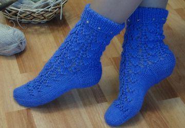 """""""Warm frost"""" socks"""