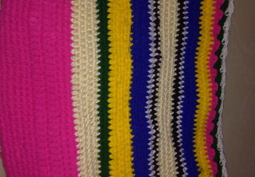 Hand made crochet bag