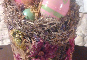 Real Nest Easter Basket