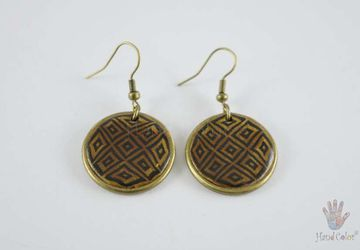 Portuguese Montanhac Round Earrings - BCDM-0-20