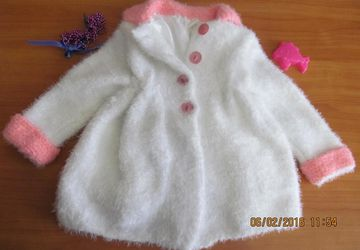 A white children's coat