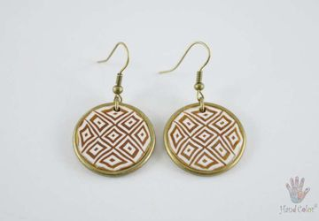 Portuguese Montanhac Round Earrings - BCDM-0-2