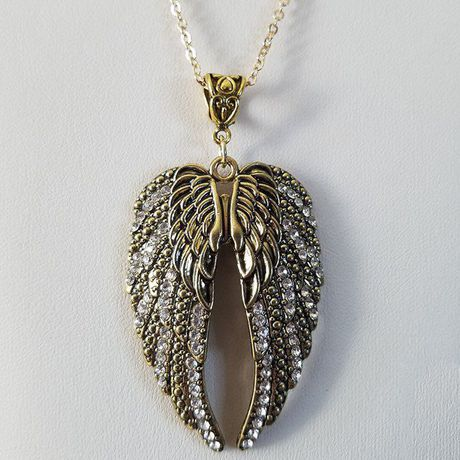necklaces earrings charm wicca faerie angel wing christian fairy wings necklace jewelry