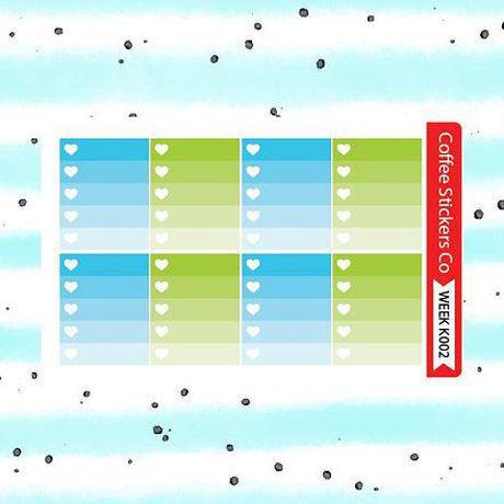 erin condren planner weekly kit stickers