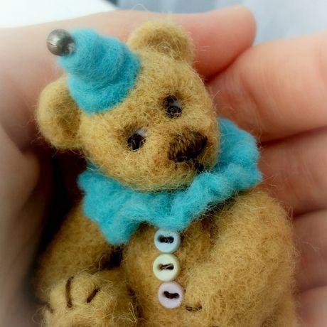 fulling bear wool gift toy
