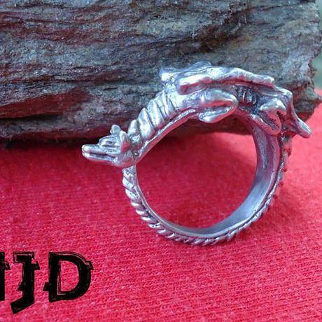 statement gothic thrones daenerys ring targaryen accesoaries dragon jewelry game