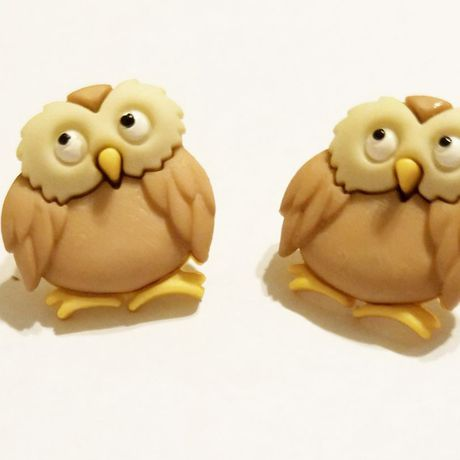 handmade kriszcreations uniquegifts giftsforher uniqueearrings owls