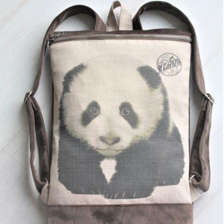 vegan backpack minimalist women cute rucksack bear gift girls backpacks panda cutest