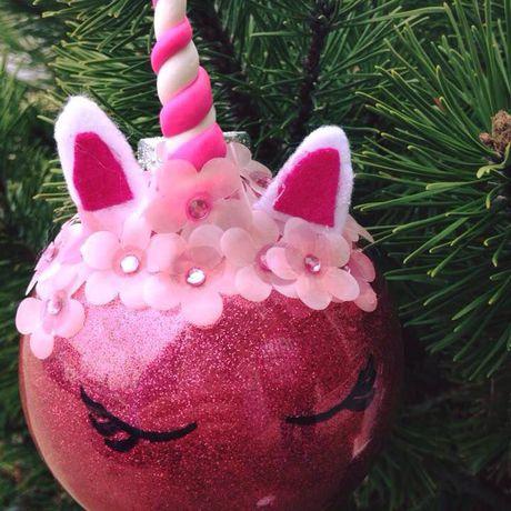 unicorn ornament gift her christmas for