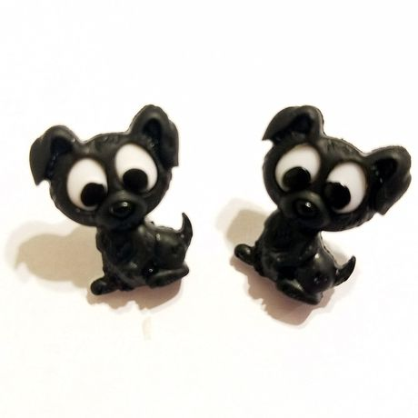 earrings blackdogs jewelry kriszcreations uniquegifts giftsforher dogs