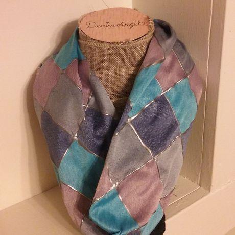handmade painting fashion accessory silk scarf