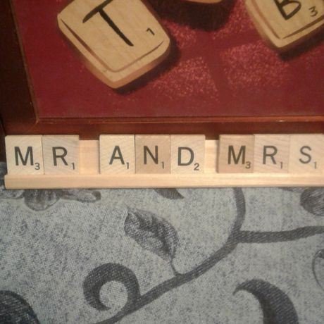 and mrs sign scrabble tiles personalized wedding decorations table decor scrabbe art sweetheart