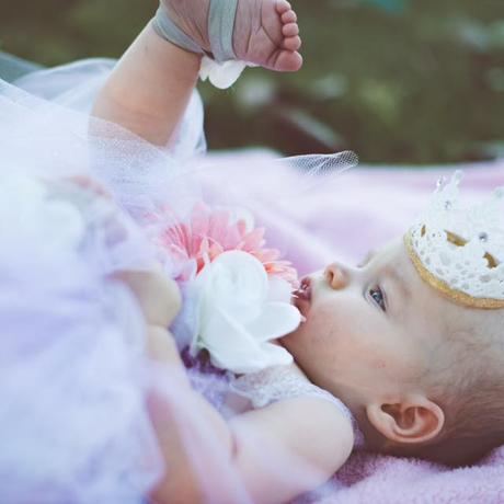 baby crown crowns princess flower jewel