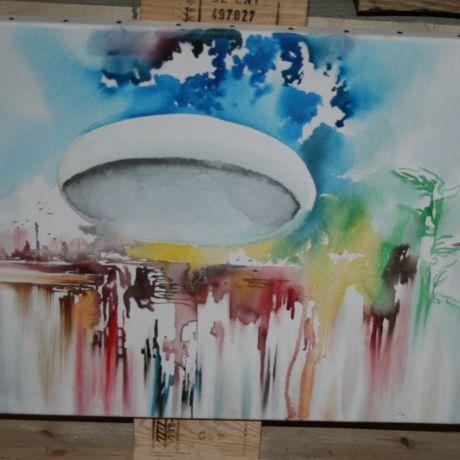 oil painting canvas art opera