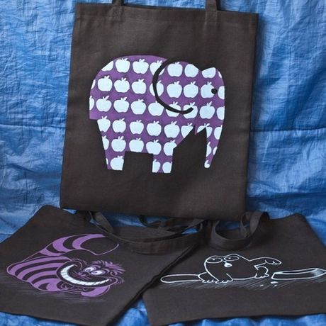 handmade painting bag elephant accessories