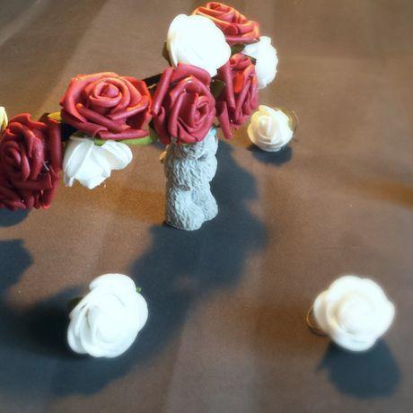 band flowers tenderness handmade