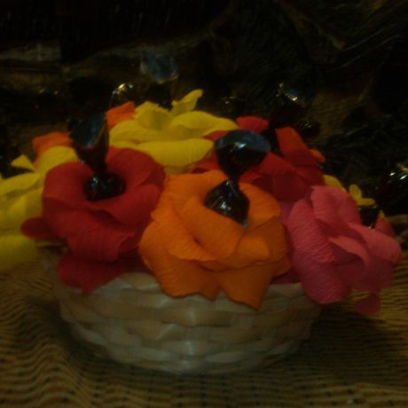 flowers bouquet gift candy