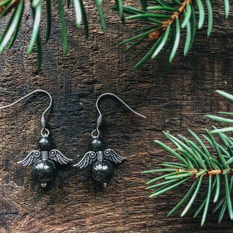 earrings gemstone gift earring jewelry angel