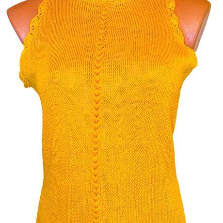 clothes mango orange top