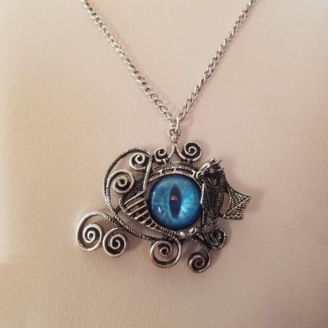 necklaces fantasy pendant charm and eye geekery dungeons dragons wrapped dragon necklace jewelry wire