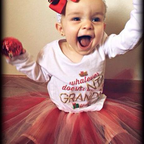 tutus first christmas for baby girls outfit tutu