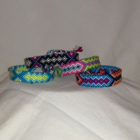 woven handwoven knot for everyday bracelet gift friendship art jewelry string tribal tie the