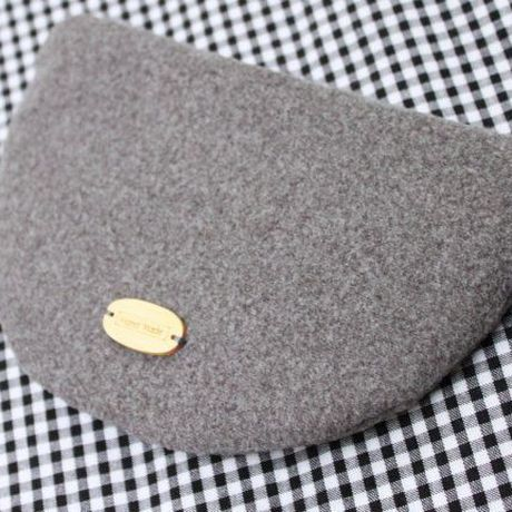purse camera day fleece cute valentine pouch gray gift birthday coin laugh kawaii smile japanese