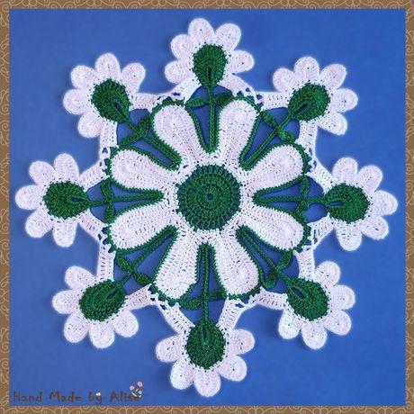 crochet napkin home