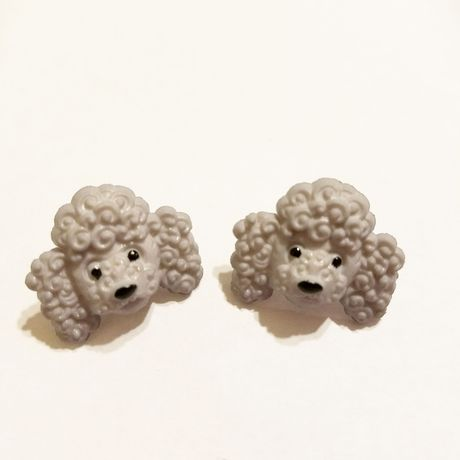 earrings poodle jewelry kriszcreations giftsforher