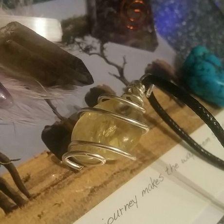 gift handmade necklace giftforher crystal healingcrystal