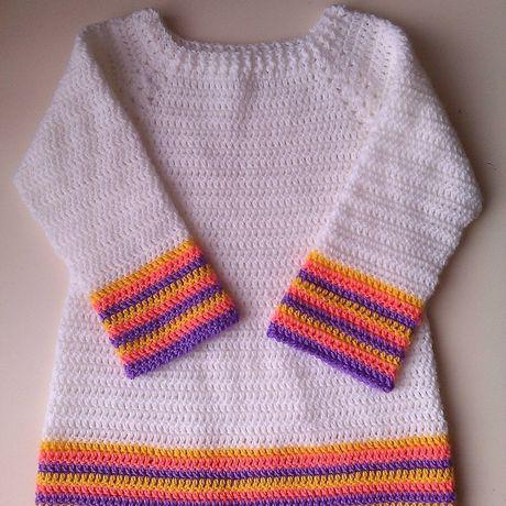 knitted girls kids dress