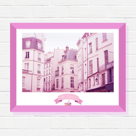 wall print poster urban parisian for gift paris photography her art decor travel