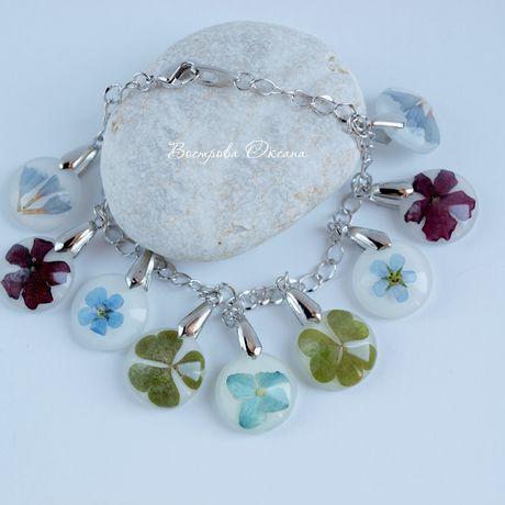 summer herbs handmade bracelet