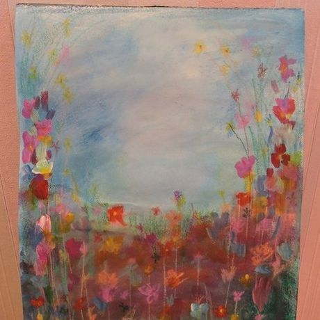 art acrylic paint canvas