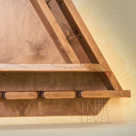 shelve pine wood holder interior wine