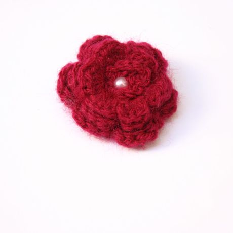 jewelery yarn brooch pattern jeweler crochet vintage brooches clips pins wool cotton shoe jewelry flower clothing accessory