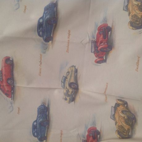 curtains fabric children cars