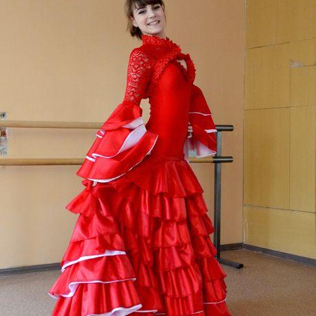 dress guipure taffeta stretch biflex flamenco bolero