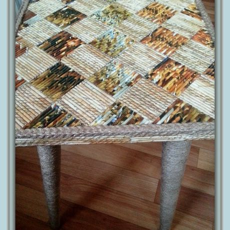 unique stool paper interior