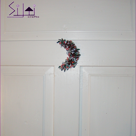 hanger wall moon victorian boho magical romantic bohemian flower door floral