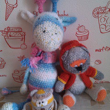 bear handmade cat friends giraffe