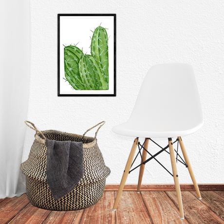 artprint cactus print illustration plant watercolor gift art giftidea fineartprint