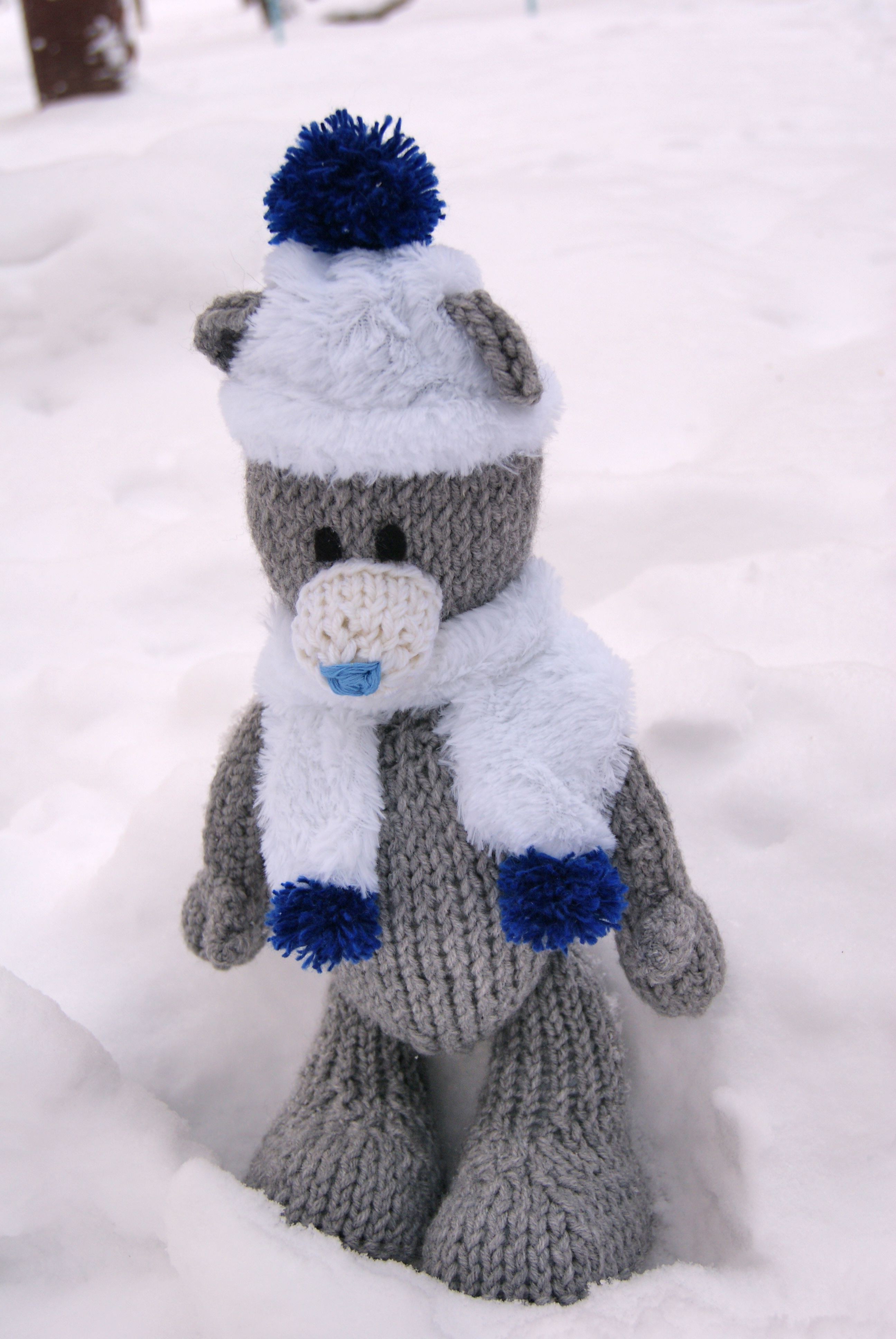 toy gift winter teddy warn interiortoy bear knit