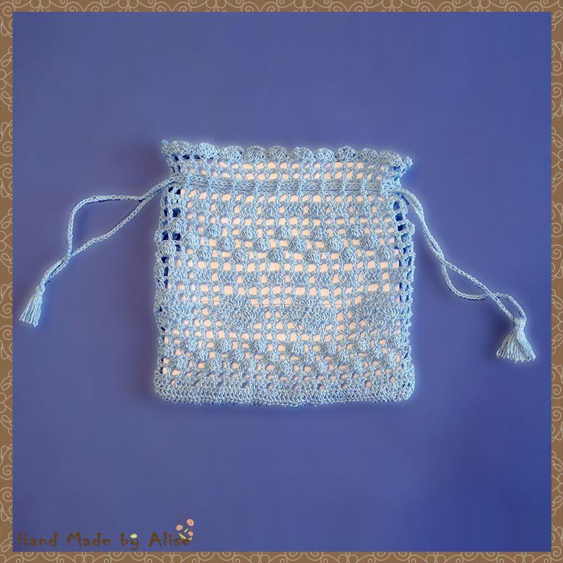 gift crochet bag