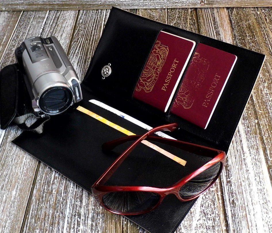 travelwallet corkwallet gennhaio vegangift zebraprint bifoldwallet passportholder