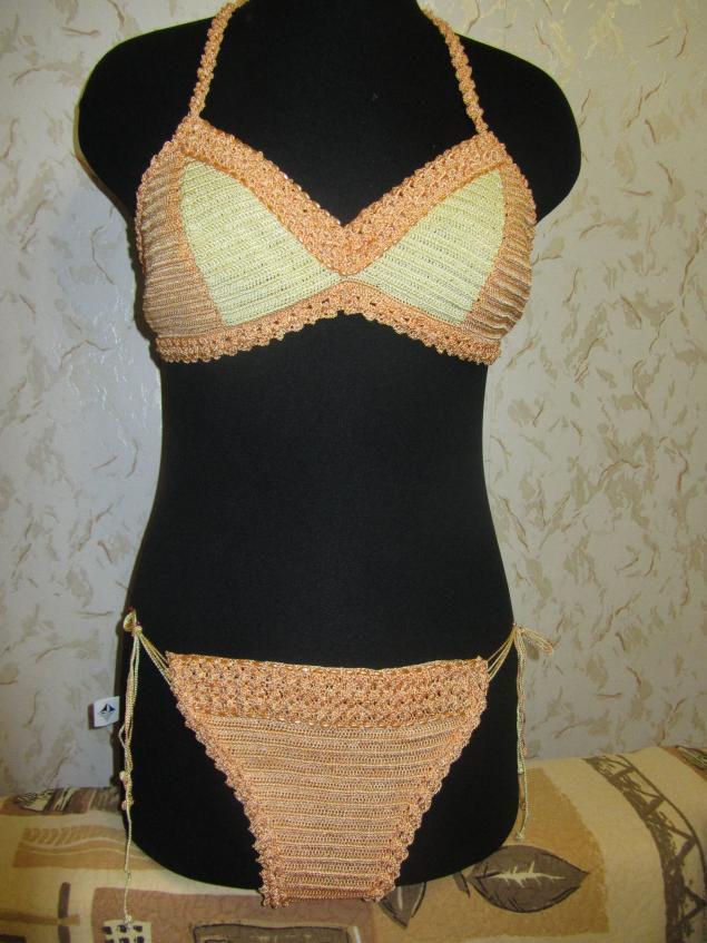 instructions textile crochet swimsuit goods