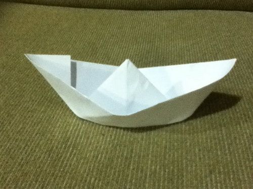 make boat list paper crafts