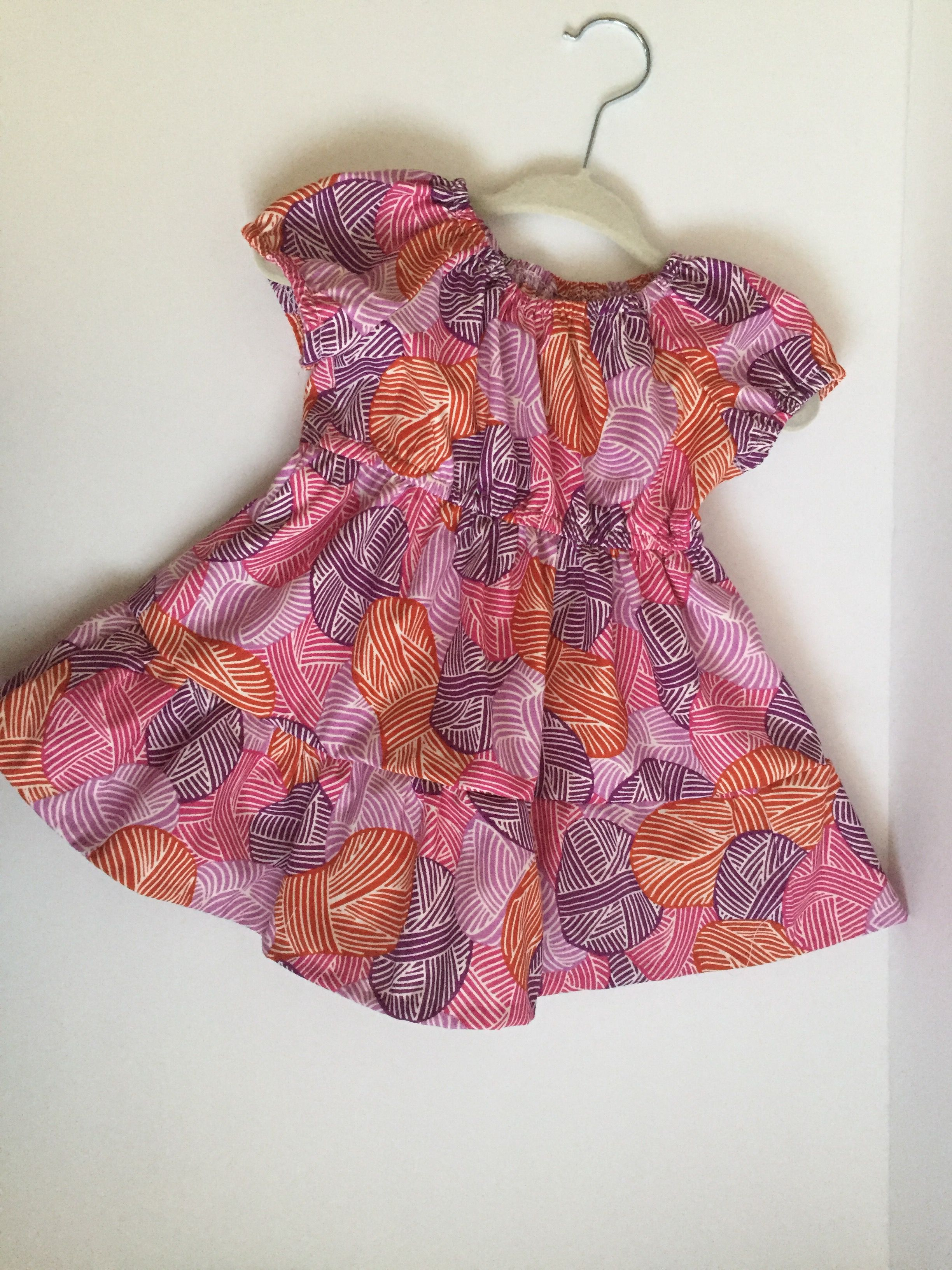 organic cotton baby gift pink girls outfit dress shower