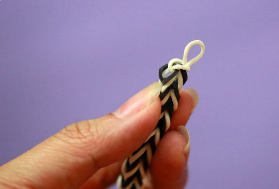 rubber colorful fingers weaving bracelet